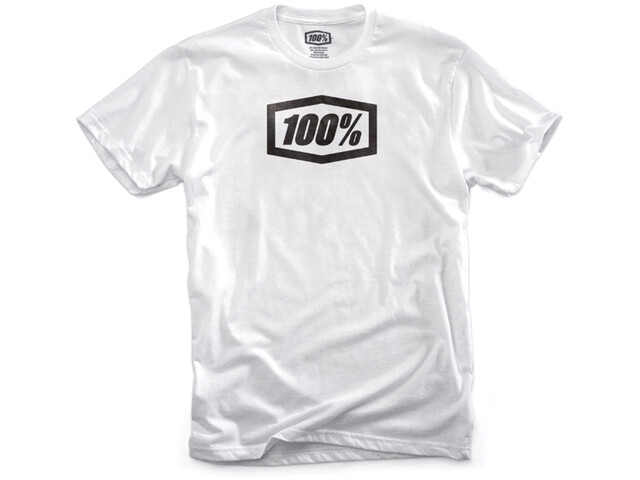 100% Essential T-Shirt Heren, white